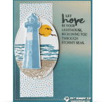 CARD: Lighthouse of Hope from the High Tide stamps