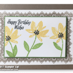 CARD: Beautiful Sale-a-bration Birthday Card and reminder only 2 days left