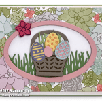 CARD: Succulent Easter Egg Basket Beauty