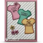CARD: Love You Custom Tee Card from a very sweet customer
