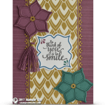 CARD: Gorgeous Eastern Palace Smile Tassels Card