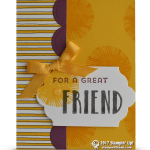 CARD: Great Friend from Lovely Inside and Out Card