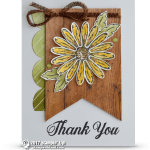 CARD: Thank You Card from Daisy Delight