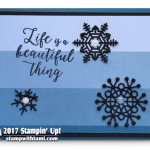 CARD: Life is Beautiful Card from the Colorful Seasons Stamps