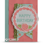 CARD: Happy Birthday from the Icing of the Cake Stamps
