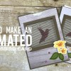 BLOG HOP & GIVEAWAY: How to make an Animated Hummingbird Motion Card