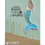 CARD: Mermaid Kisses and Starfish Wishes Card