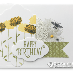 CARD: Happy Birthday Daisy Delight Card