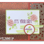 """CARD: It's Your Day Fun Foil Frenzy """"Wow"""" Card"""