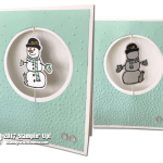 CARD & VIDEO: Snowman Suspension Card from the new Seasonal Chums Bundle