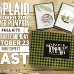 NEWS: October Paper Pumpkin Kits Available Monday – while supplies last