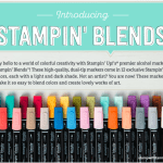 NEWS: Stampin Blends Markers Releasing to Customers November 1