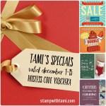 SPECIALS: Tami's Ordering Gift Tutorials  for November 16-30 – Hostess Code ACKDDHMC