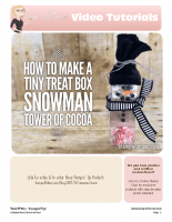 snowman tiny treat tower set-stampwithtami-stampin up