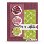 CARD: Cue the Confetti Card from the Picture Perfect Birthday Stamps