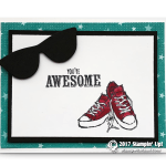 CARD: Awesome Sunglasses from SAB Epic Celebration Set