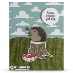 CARD: Sending Hedgehugs Your Way Card
