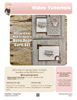 barnd door -stampwithtami-stampin up