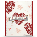 CARD: Be Mine Valentine's Day  Card from Bloomin' Love