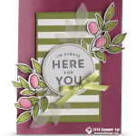 CARD: I'm Always Here for You from the Lots of Happy Card Kit