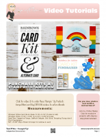 Rainbows for Autism Alternate -stampwithtami-stampin up