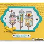 CARD: Happy Birthday from the Flying Home Stamp set – Part 1