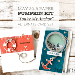 ONLINE CLASS & VIDEO: April 2018 Paper Pumpkin Kit, Alternate Card Set & Giveaway