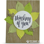 CARD: Rooted in Nature WOW Flower Card