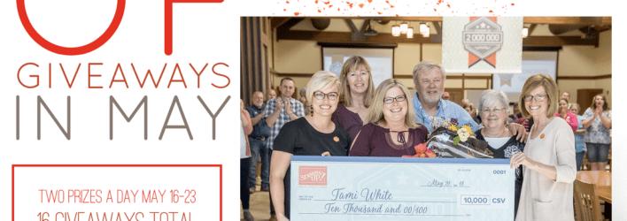 8 Days of Giveaways Winners Revealed & $2Million Trip Recap