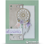 CARD: Follow Your Dreams Dream Catcher Card
