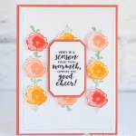 CARD: Warmth and Cheer from the Frosted Floral Bundle