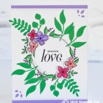 CARD: Sending Love from the Floral Frames Bundle