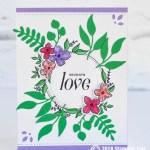 CARD: Sending Love from the Floral Frames Bundle