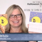 ONLINE CLASS: How to make a set of Alley Cat on a Fence Card & Treat Pouches