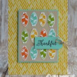 CARD: Thankful feather card from Making Everyday Bright