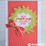 CARD: Simple Joys Holiday Card from the Christmas Pines