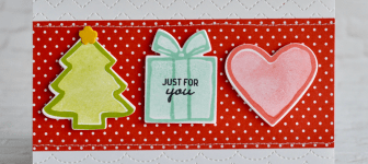 CARD: Just for You Card from the Nothing Sweeter Stamp Set