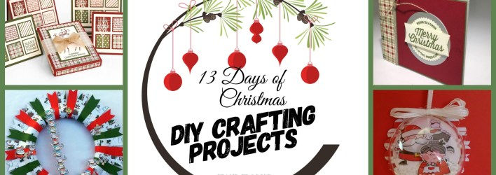HOLIDAY HELPER 2018 – 13 Days of Christmas Project Tutorials Free