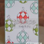 CARD: Peace and Joy from the Great Joy  Stamps