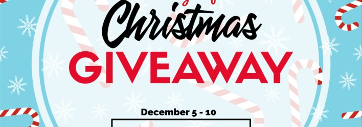 6 Days of Christmas Giveaway – December 5-10