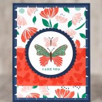 CARD: I like you butterfly card from the Butterfly Gala Bundle