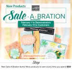 NEW Sale-a-Bration 2nd Release  – more free products