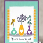 CARD: You're Simply the Best from Varied Vases