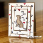 CARD: A Best Friend Leaves a Paw Print on your Heart