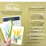 Lasting Lily Card Bundle Offer – purchase the bundle and get the SAB set free