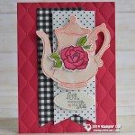 CARD: Warm Cup of Tea Card from the Tea Together & Tea Time Set