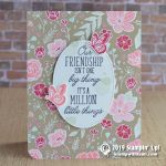 CARD: A million little things card from the Beauty Abounds Stamps