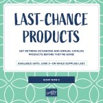 STAMPIN UP RETIREMENT LIST – While Supplies Last