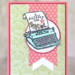 CARD: A birthday note from the retiring PS You're the Best Stamps