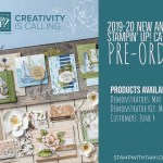 NEWS! Stampin Up New Catalog Pre-Order is Happening Now – find out how to get new stuff now